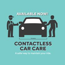 Available Now! Contactless Car Care